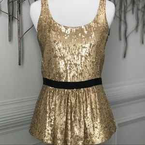 NWT! Burberry- Sequin Top